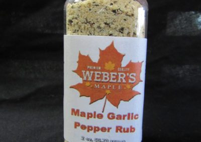 Mable Garlic Pepper Rub
